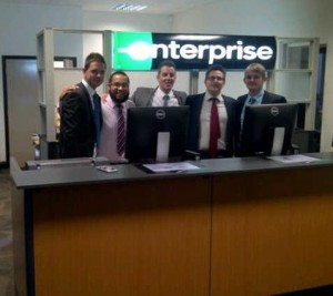 Enterprise Rent-A-Car - Employees at the new Cambridge location