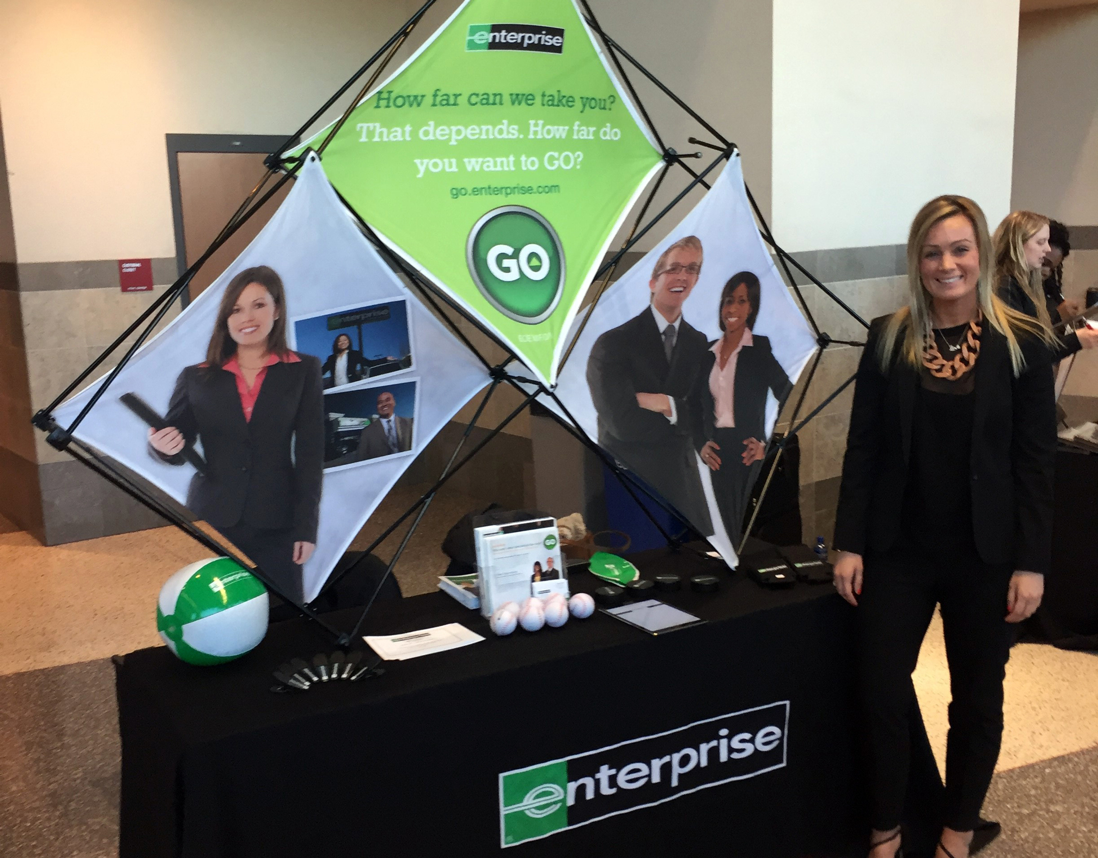 Enterprising women on the go: Louella J.