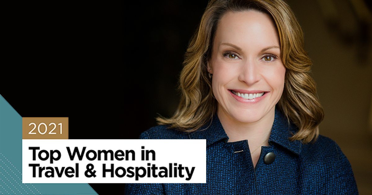 Leadership, Perseverance and Grit: Enterprise CEO Chrissy Taylor featured in 2021 Top Women in Travel & Hospitality report