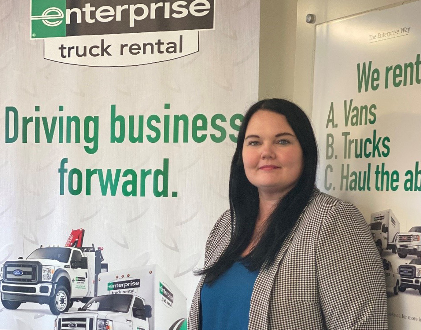 How this woman became the first female Group Truck Rental Manager in Canada